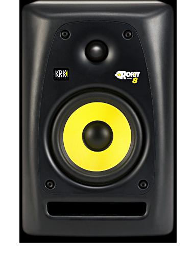 rokit 8 studio monitor speakers by krk systems 8 10 review scoop. Black Bedroom Furniture Sets. Home Design Ideas
